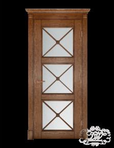 Дверь из массива модель М-21.4 под стекло