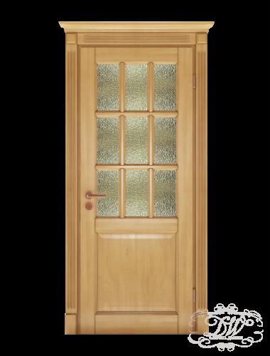 Дверь из массива модель М-27.1 под стекло