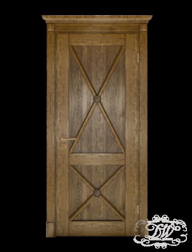 Дверь из массива модель М-27.4 глухая