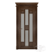Дверь из массива модель М-6 под стекло