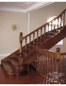 Лестница из массива дерева 3
