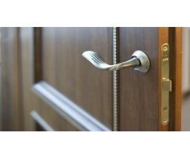 Двери с наплывом (притвором, четвертью)