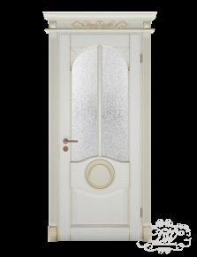 Дверь из массива модель М-13 под стекло