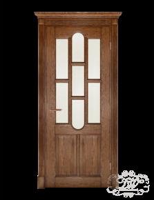 Дверь из массива модель М-16 под стекло