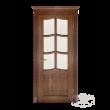 Дверь из массива модель М-2 под стекло
