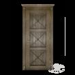 Дверь из массива модель М-21.4 глухая