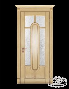 Дверь из массива модель М-30 под стекло
