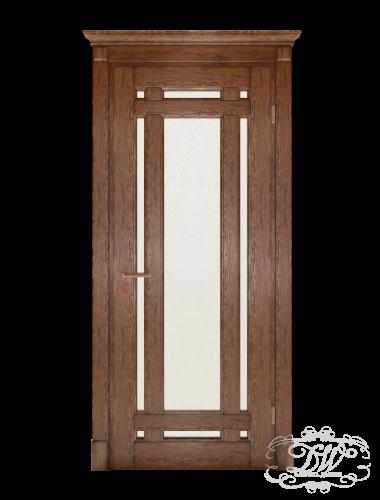 Дверь из массива модель М-4 под стекло